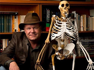 Berger's theory that Homo naledi buried their dead has been questioned by fellow researchers. (Picture courtesy of Berger's Facebook page)