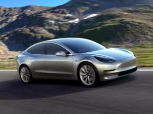 Tesla's Model 3 electric vehicle.