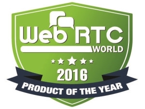 Presence Technology receives 2016 WebRTC Product of the Year Award.