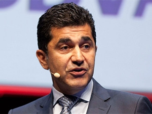 Babak Fouladi, from Vodafone Spain, is the new MTN group exec for technology and information systems.(Photograph by MIT Technology Review)
