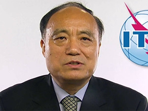 ITU secretary-general Houlin Zhao.