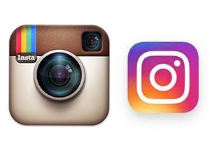 Instagram has abandoned the iconic 'cutesy' vintage camera logo and adopted a simpler, rainbow-inspired design.