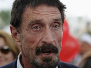 McAfee founder John McAfee recently sued Intel to get back the right to use his name.