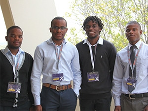 Members of team Kriterion tackle tender corruption with their software development project.