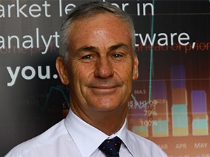 Murray de Villiers of SAS has taken a personal interest in the development of analytical skills across Africa.