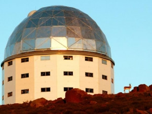 The Southern African Large Telescope in Sutherland helped detect the first white dwarf pulsar.