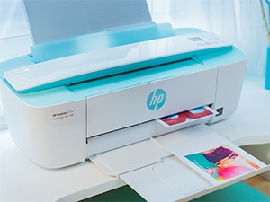 "The DeskJet 3720 is ""half the size"" of most all-in-one printers, according to HP."
