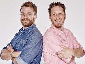 Evan Walther (left) and Joshua Shimkin, FitKey.