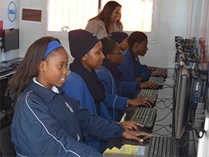 The solar-powered classrooms will encourage and prepare girls to enter the IT industry.