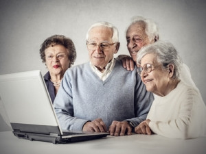 A study shows people over 60 are most likely to share, comment and engage on social media.