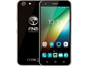 FNB's branded phones launched last year.