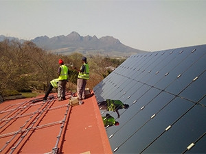 The Stellenbosch Waldorf School will switch on its solar energy system this week.