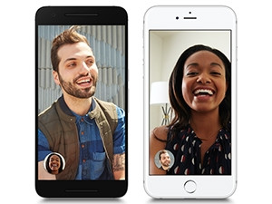 Google Duo is now available to both Android and Apple users, unlike the iOS equivalent, FaceTime.