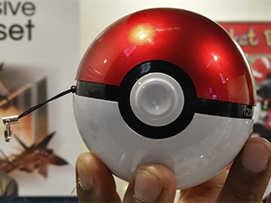 Pokemon Go players can now buy a portable charger in the shape of a Pokeball.