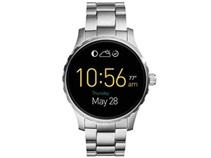 The Fossil Q Marshal blends traditional and smartwatch capabilities.