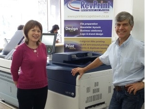 Raymond and Jane Fuller, Revprint Tokai