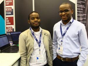 Rito Vukela and Nnaemeka Obodoekwe from Kriterion.
