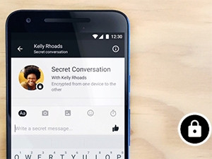 Facebook Messenger now lets users have 'secret conversations', although the option is not turned on by default.