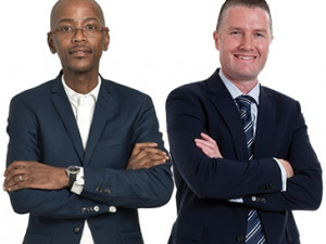 Adapt IT's Sbu Shabalala and FNB's Peter Alkema share the belief that great opportunities exist for SA's tech entrepreneurs.