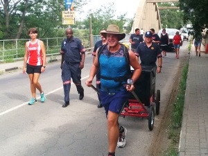 Residents from towns Paul walked through would frequently accompany him for a short distance.