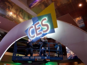 Small start-ups at CES are capitalising on traffic headaches to highlight their products.