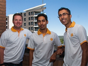 Carter co-founders Tom Gardner, Amit Bholla and Vikash Govindjee have backgrounds in management consultancy and insurance.
