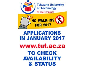 tshwane university of technology apply