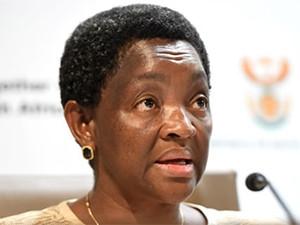 Social Development Minister Bathabile Dlamini.