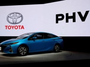 Toyota's new Prius PHV Plug-in-Hybrid vehicle.