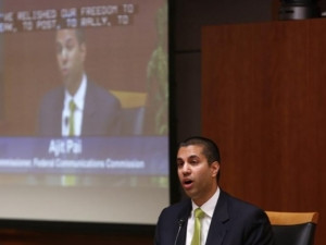 Federal Communications Commission chairman Ajit Pai.