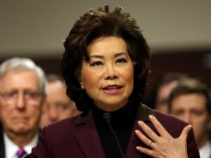 US transportation secretary Elaine Chao.