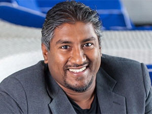South African-born Internet entrepreneur turned venture capitalist, Vinny Lingham.