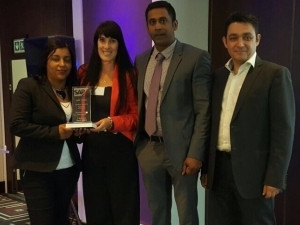 Left to right: Shubna Harilall - Lead Deal Executive: SAP Sales at T-Systems South Africa; Cherise Green, Partner Manager at SAP; Lawrence Kandaswami, Channel Head at SAP.