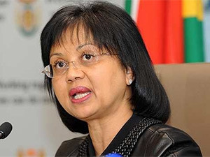 Energy minister Tina Joemat-Pettersson.