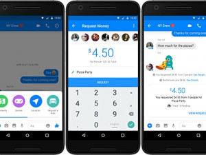 Facebook introduced peer-to-peer payments to Messenger in 2015.
