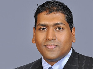 Cherian Varghese, Oracle VP and MD of technology in Africa.