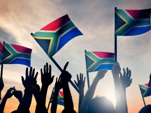 Protests in South Africa.