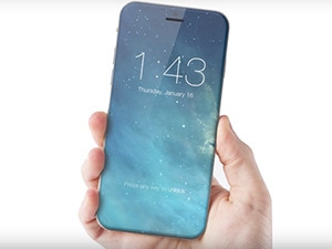 A concept image of a bezel-less iPhone 8 via MacRumors.