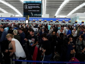 The BA IT outage caused chaos at Heathrow.