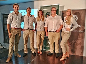 Eva Africa was among the winning teams of the waste management challenge.
