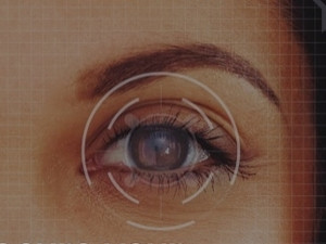 Iris scanning comes to mobile.