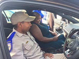 Thirty Gauteng traffic police cars have been fitted with tablets to link to the Namola app.