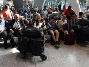 BA is working to reunite passengers with their luggage after items were left at Heathrow.