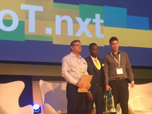 IoT.nxt was named the winner of the Best Commercial IOT Solution and of the Overall IOT award.