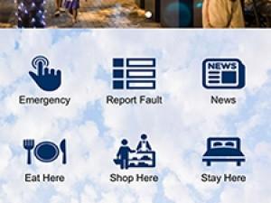 The uMhlanga Rocks app.