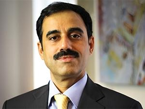 Ajay Bhalla, president of Global Enterprise Risk and Security at MasterCard.