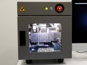 An Apple Horizon machine fixture made to service broken iPhones.