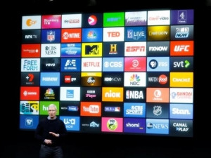 Apple CEO Tim Cook speaks about Apple TV.