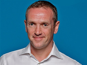Naspers CEO Bob van Dijk.