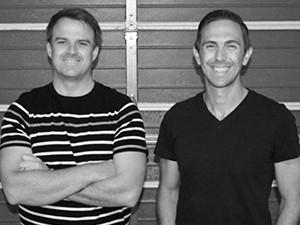 Wahi founders Daniel Bailey (CTO) and Michael Hodgson (CEO).